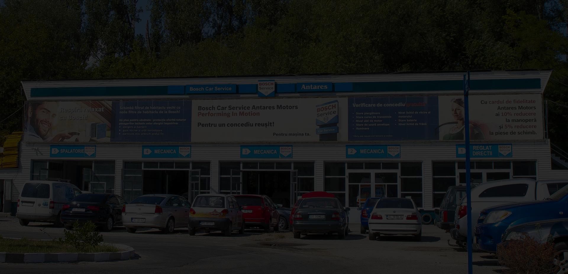 Service auto Antares Motors fundal